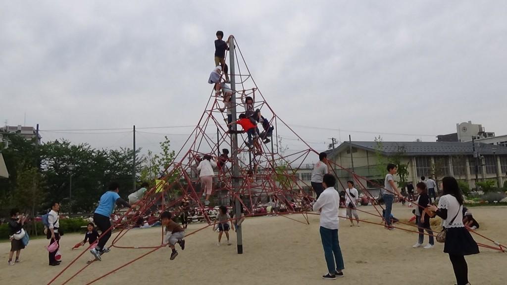 梅小路公園内の遊具01