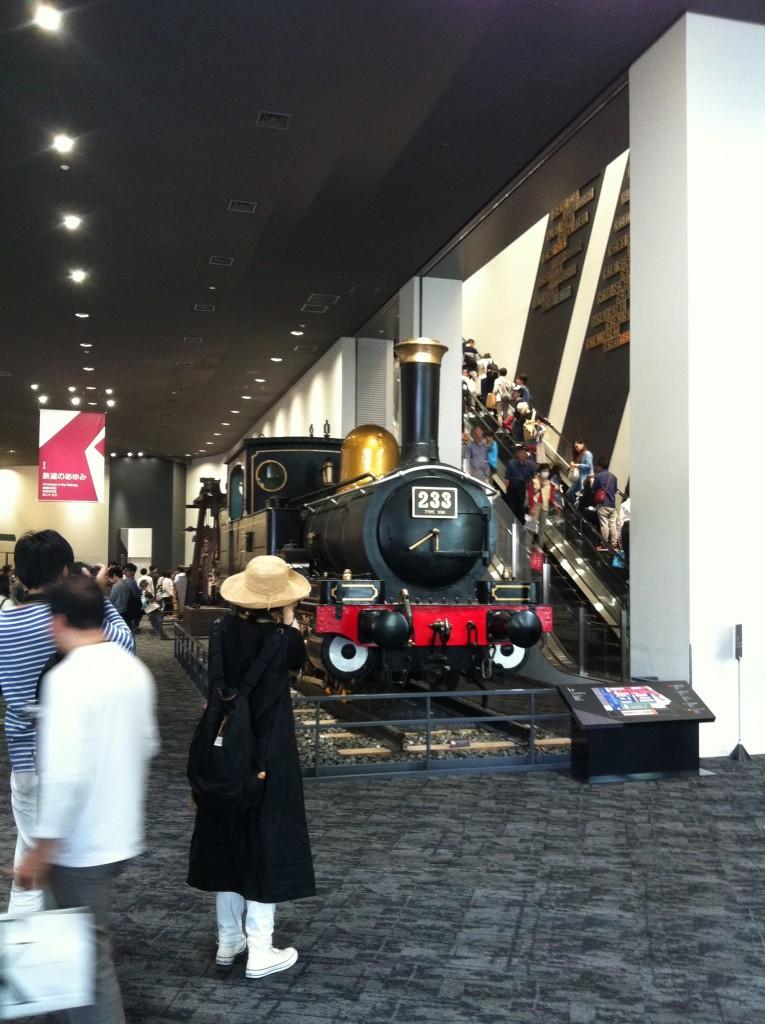 SL蒸気機関車 黒色 京都鉄道博物館 館内