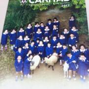 カリタス小学校の学校案内パンフレット(表紙)の画像キャプチャ