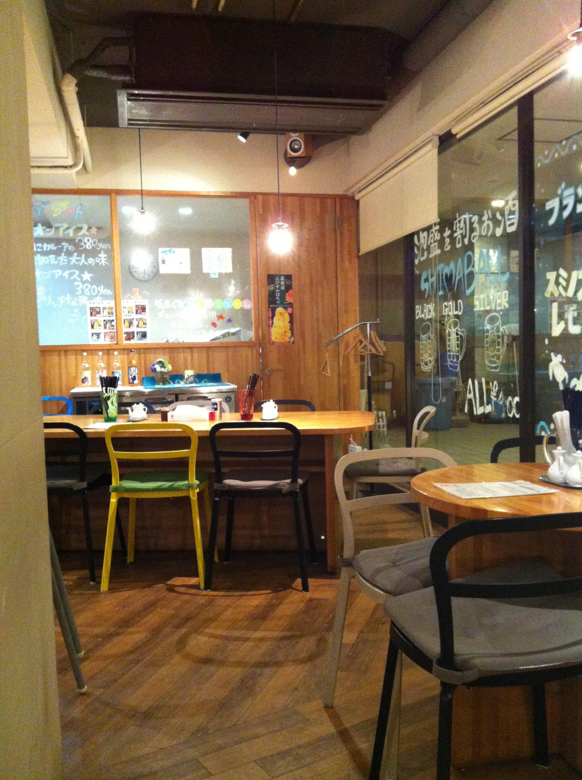 ウミガメ食堂の店内画像