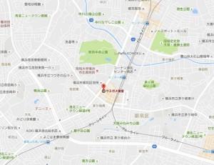 ウミガメ食堂マップ(地図)画像