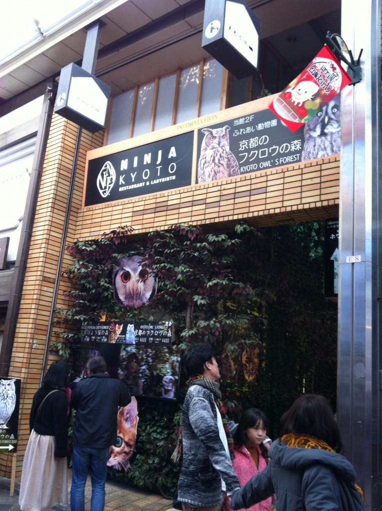 京都のフクロウの森の外観画像