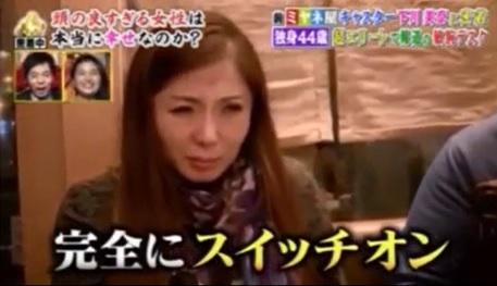 下川キャスターが泥酔した表情の画像キャプチャ