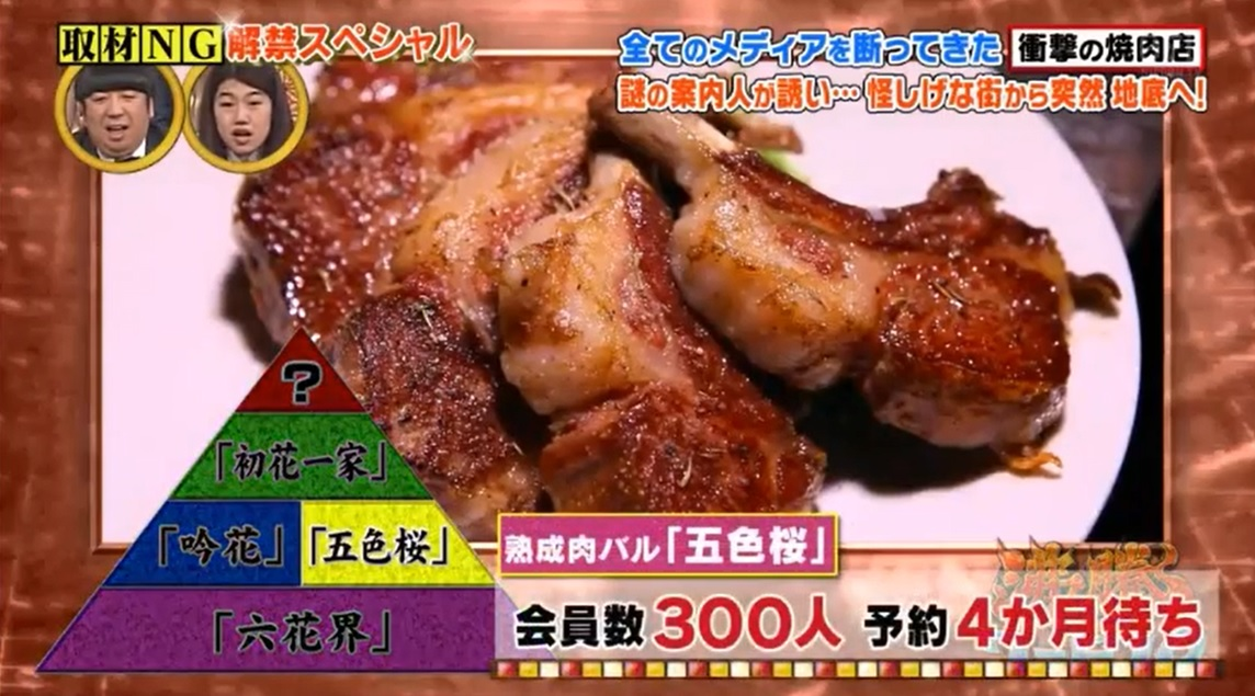 五色桜のお肉、概要画像