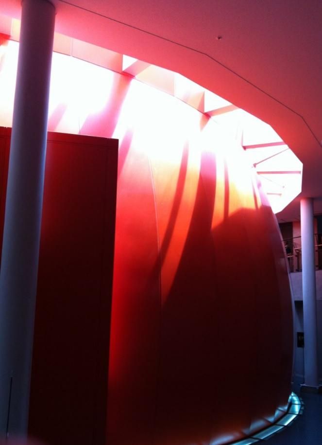 国立科学博物館シアター360終了出口の外観画像