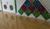 日本大学藤沢小学校の廊下にある生徒の制作物の画像キャプチャ