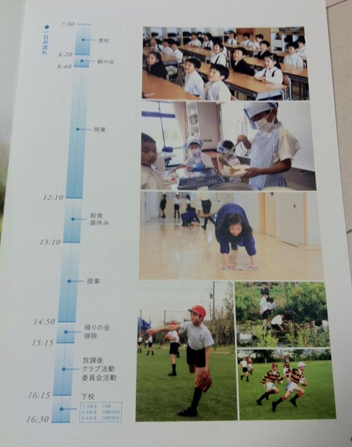 慶應義塾横浜初等部のパンフレット(4ページ目)の画像
