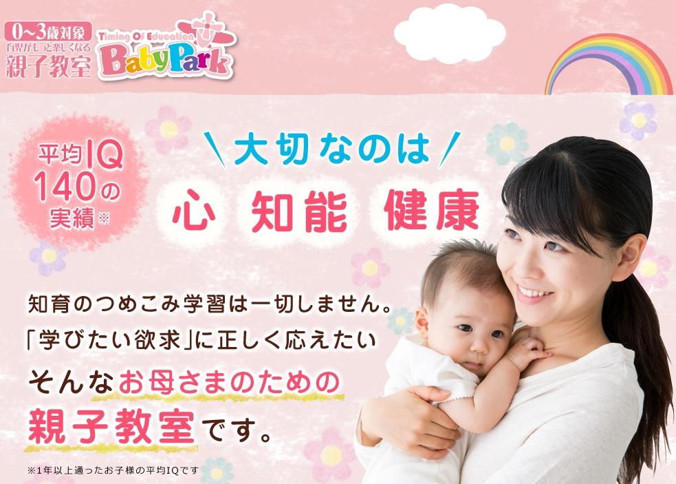 ベビーパークの公式サイトの画像