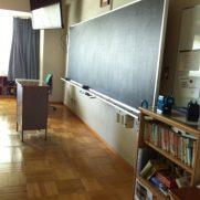 精華小学校の黒板の写真(画像)