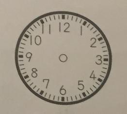 SAPIXの入室テストで出題された算数の文章問題(小学2年生10月)の問題①の時計版のイメージ画像