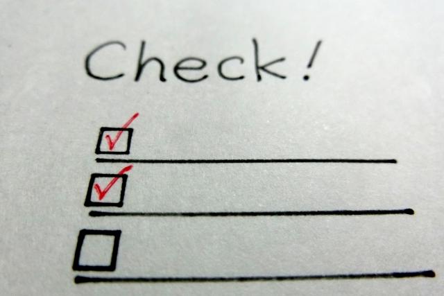サピックスの適性診断チェックリスト