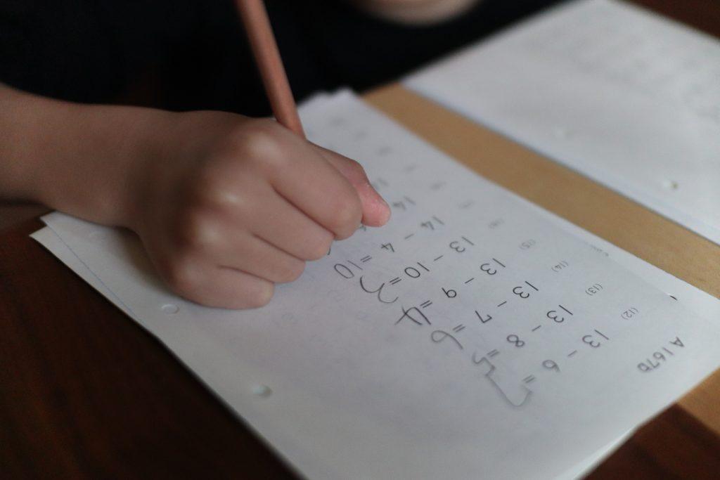 算数を重視するZ会中学受験コースの小学4年生