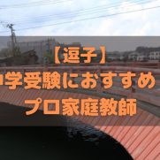 逗子市で中学受験生におすすめのプロ家庭教師