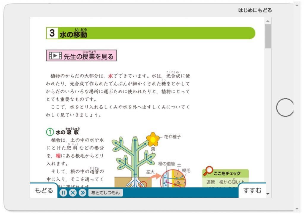 Z会中学受験コース 5年生 体験サイト 理科 要点 練習問題 文字形式で読む