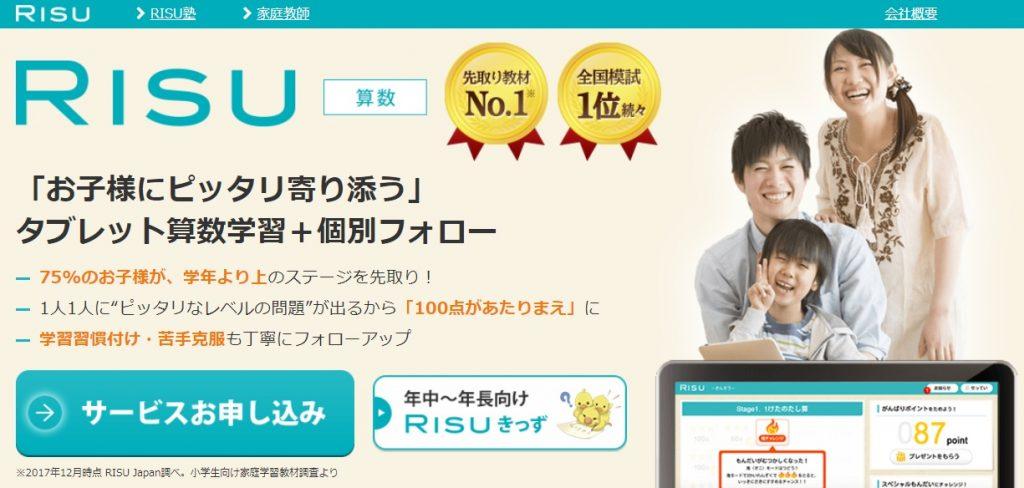 RISU 公式サイト