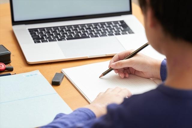 学研のオンライン家庭教師で勉強する際に必要な機材をそろえた生徒