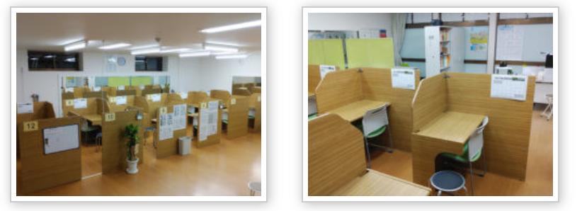個別指導塾Wam篠路校(北海道札幌市)の塾内の画像